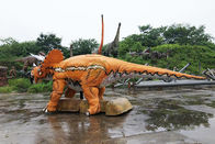 Interactive Electric Realistic Dinosaur Model For Theme Park / Shopping Mall