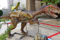 Waterproof Animatronic Dinosaur Ride , Jurassic World Monolophosaurus Dinosaur Ride