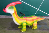 Customized Kids Dinosaur Car Sun Proof For City Plaza CE ISO Certificated