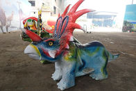 Simulation Styracosaurus Dinosaur Battery Car With Remote Control Mode