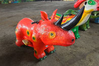 Battery Powered Electric Ride On Dinosaur For Amusement Park / Playground