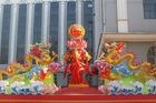 Custom Traditional Fabric Chinese Lanterns For Shopping Mall Activities