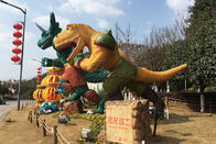 Park Ornamental Custom Fiberglass Products Marvel Character FRP Dinosaur
