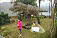 Electric Life Size Robot Realistic Animatronic Dinosaur Can Interactive
