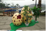 Life Size Hand Realistic Hatching Dinosaur Egg Model For Large Amusement Park