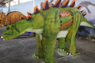 Green Attractive Realistic Dino Costume High Durability For Party Entertainment