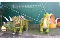 China Triceratops Animatronic Dinosaur Ride Soft Skin Silicon Rubber company