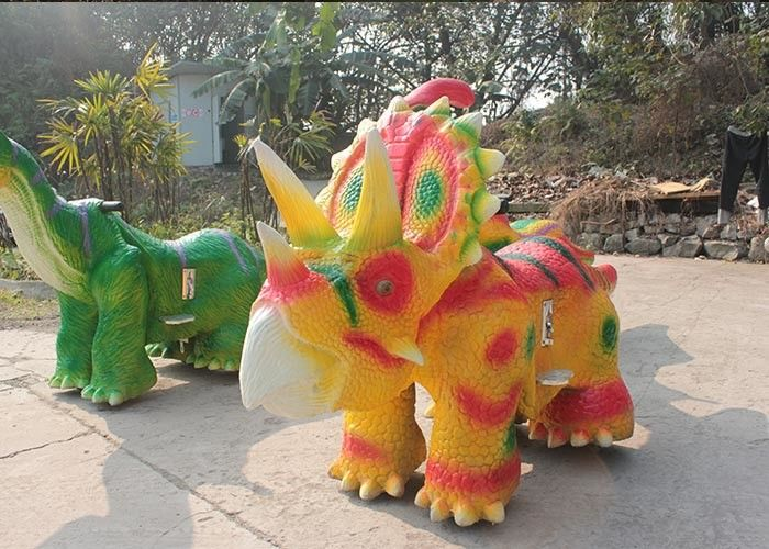 Attractive Dinosaur Battery Car Waterproof For 2 - 10 Years Old Children