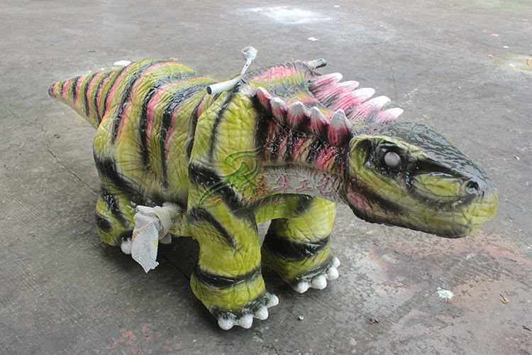 Super Cute Flexible Dinosaur Toy Car 12V Battery Driven For Shopping Mall