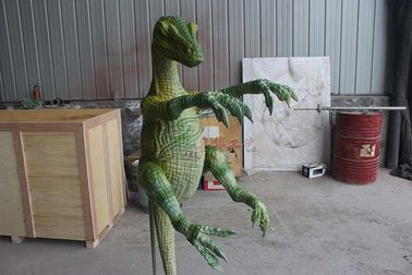 Silicone Rubber Realistic Dinosaur Puppet Customization Acceptable