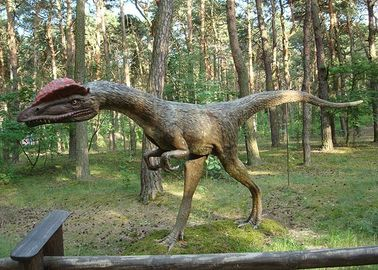 Waterproof Life Size Dinosaur Statue For Jurassic Theme Park Shopping Mall