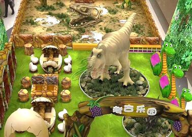 China Artificial 2D 3D Dinosaur Theme Design For Amusement Park Shopping mall factory