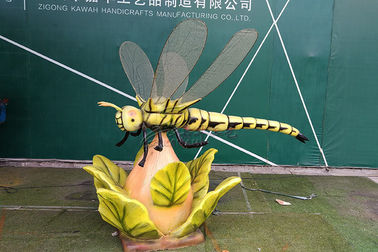 China Children Playground Realistic Animatronic Dragonfly Model High Durability factory