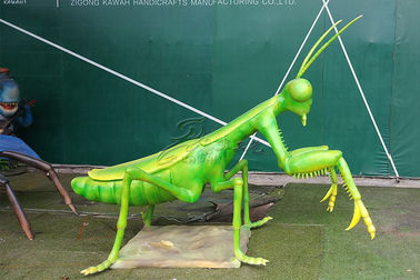 Vivid Simulation Mechanical Animatronic Insects Model For Amusement Park