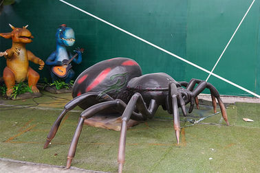 China Attractive Realistic Animatronic Insects Spider For Theme Park Exhibition factory