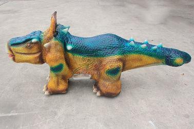China Indoor / Outdoor Life Size Animatronic Dinosaur Ride Custom Design Support factory