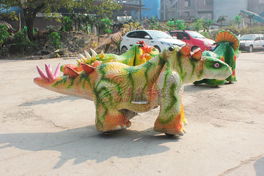 China Water Resistant Dinosaur Battery Car , Vivid Electric Ride On Dinosaur factory