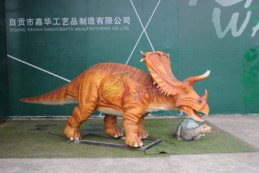 China Remote Control Life Size Electronic Dinosaur With Mouth Open And Close factory