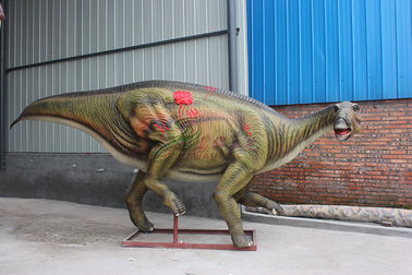 China Remote Control Electric Animatronic Realistic Dinosaur For Amusement factory