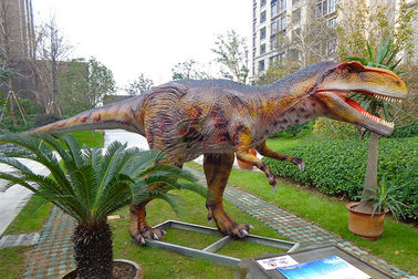 China Coin - Operated Animatronic Dinosaur For Indoor / Outdoor Children's Playground factory