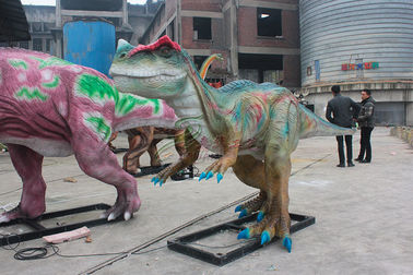 China Interactive Customed Handmade Realistic Animatronic Robot Dinosaur For Sale factory