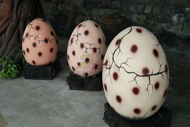 Animatronic Hatching Dinosaur Egg Weather Resistant For Amusement Park