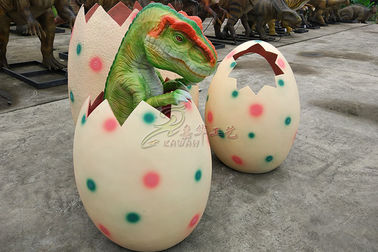 Life Size Realistic Hatching Dinosaur Egg With Excellent Anti Fading Ability