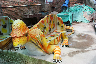 China Leisure Place Fiberglass Reinforced Plastic Custom Dinosaur Chair For Show factory