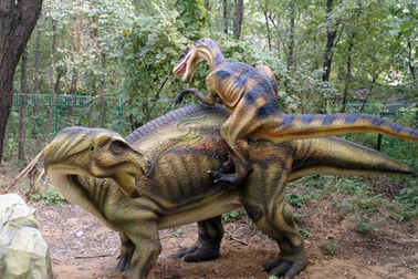China Waterproof Realistic Robotic Simulation Animatronic Dinosaur For Kids Park factory