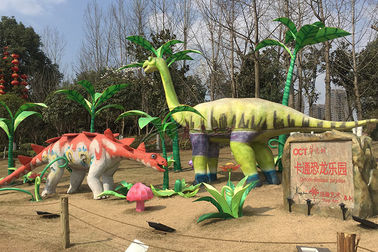 China Natural Realistic Simulation Dinosaurs Custom Fiberglass Products For Amuseument Park factory