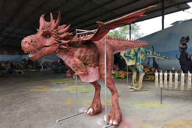 China 4 Metters Flying Custom Western Dragon Costume To Perform In European Market factory