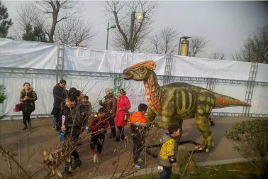 China Frp Life Size Dinosaur Statue Display In Special Independent Decoration Park Outdoor factory