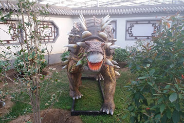 China Lifesize Artificial Dinosaur Mold Amusement Park Equipment For Business Show factory