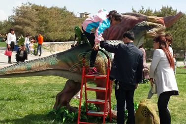 Grand Central Park Interactive Ride Realistic Animatronic Dinosaur Show Kids