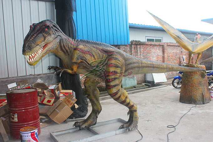 Coin - Operated Animatronic Dinosaur For Indoor / Outdoor Children's Playground