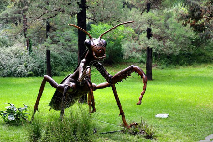 Various Outdoor Parks 1 / 1 Animatronic Insects Handmade Manual Operation